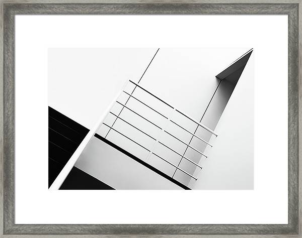 Welcome To The 3rd Floor Framed Print