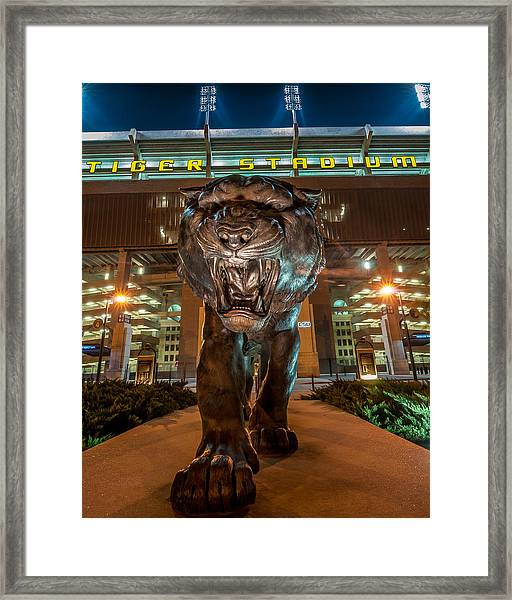Welcome To The Jungle 2 Framed Print