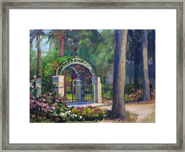 Welcome To White Park Framed Print