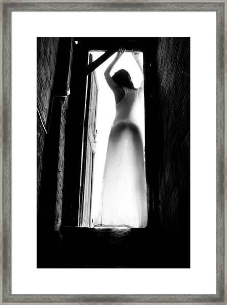 Welcoming Sunshine Framed Print