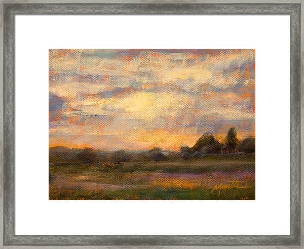 Weld County Framed Print
