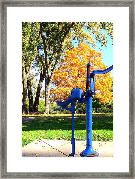 Well Stated Framed Print