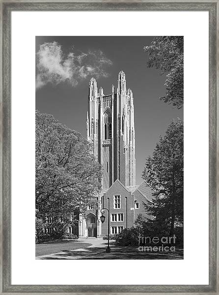 Wellesley College Green Hall Framed Print