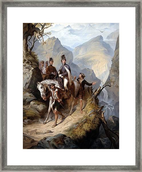 Wellington At Sorauren, 27th July 1813 Framed Print