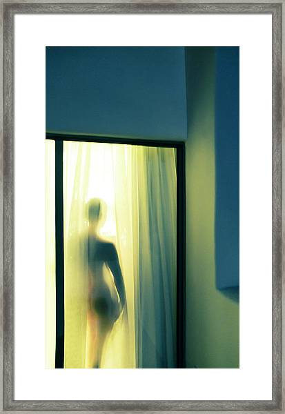 Wendy - Ojai Framed Print
