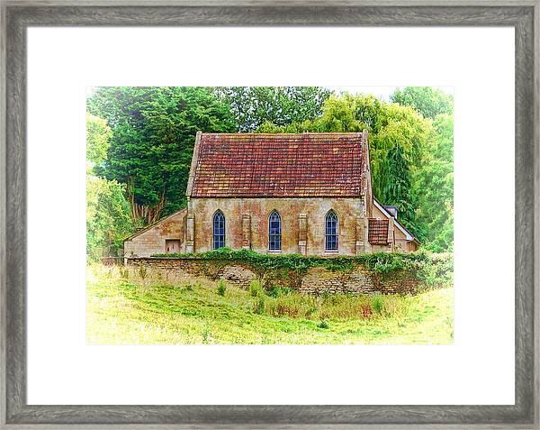 Wesleyan Chapel -01 Framed Print
