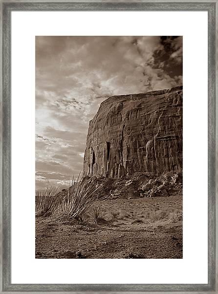 West 001 Framed Print