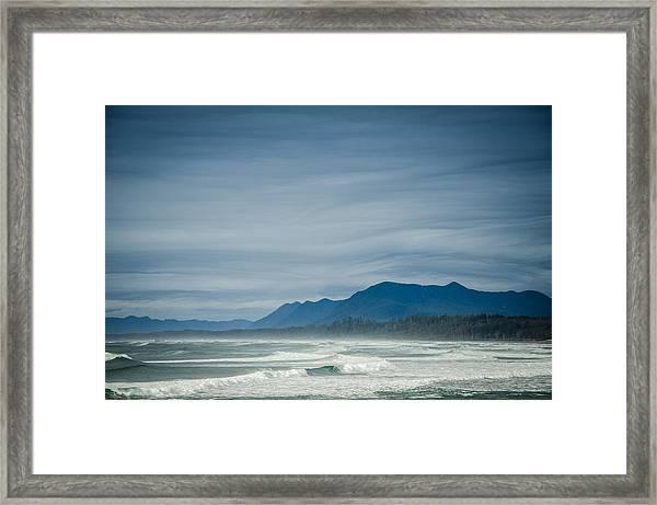 West Coast Exposure  Framed Print