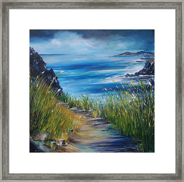West Coast Of Ireland Framed Print by Conor Murphy