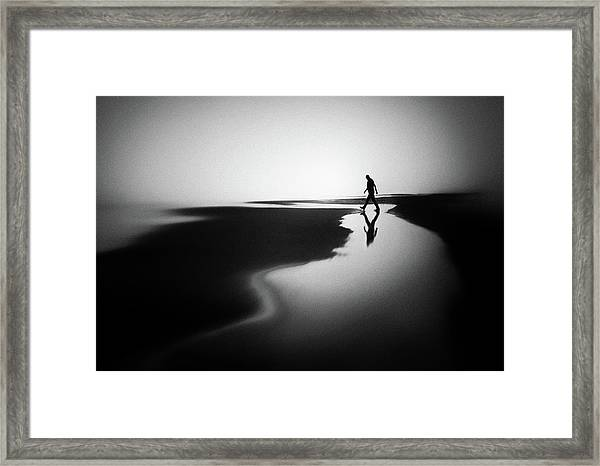 West Coast Reflections Framed Print