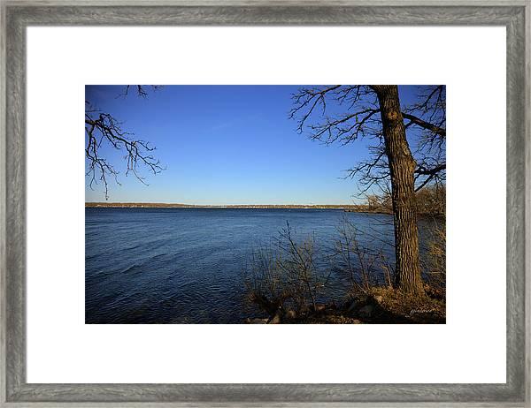West Lake Okoboji Framed Print