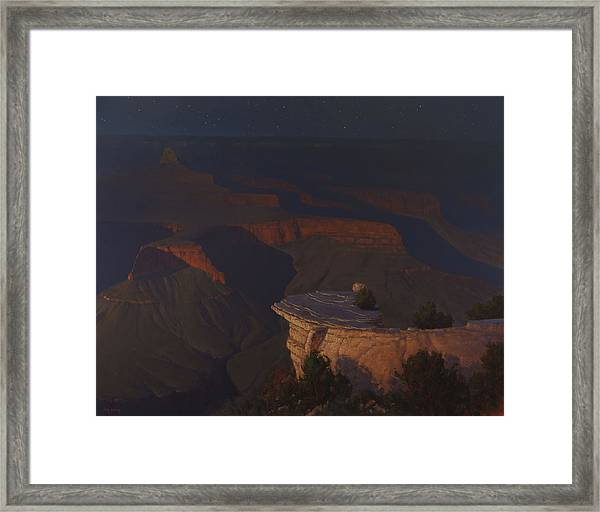 West Moon Grand Canyon Framed Print