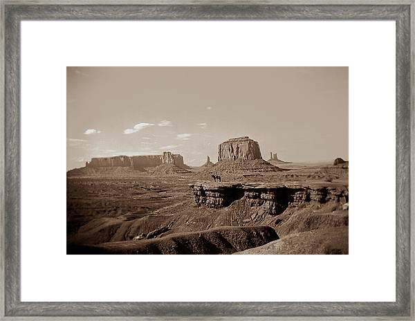 West Oo4 Framed Print