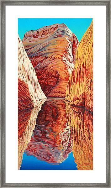 West Passage Framed Print