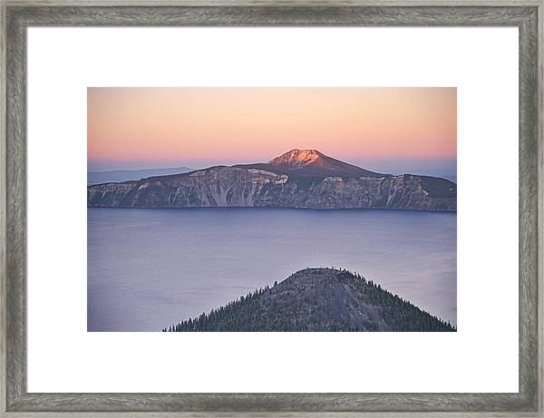 West Side Sunset Framed Print
