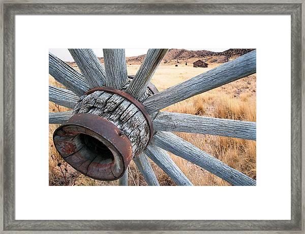 Western Ways Framed Print by Darryl Wilkinson