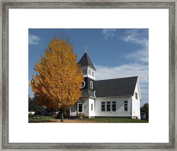 Westfield Vermont  Framed Print