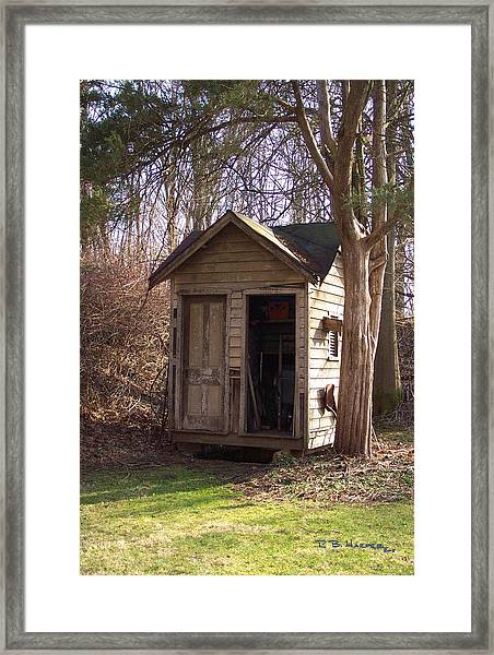 Westtown Station Necessary House Framed Print