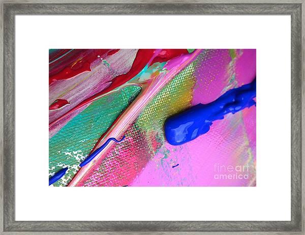 Wet Paint 31 Framed Print