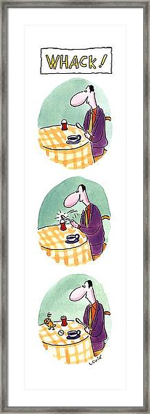 Whack! Framed Print