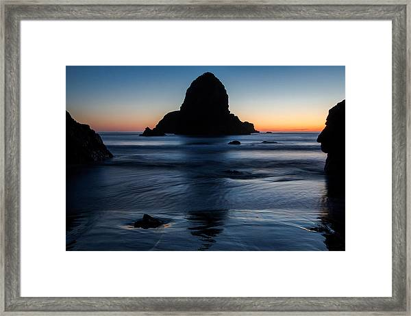 Whaleshead Beach Sunset Framed Print