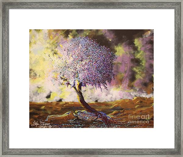 What Dreams May Come Spirit Tree Framed Print