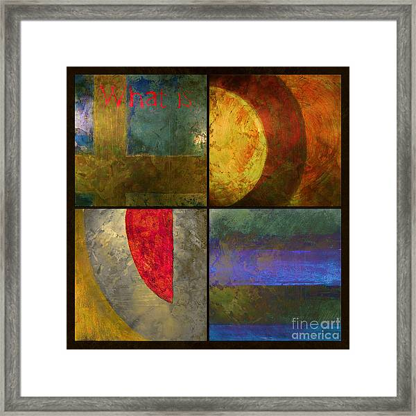 What Is Love Framed Print