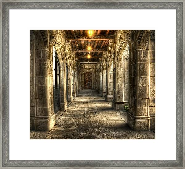 What Lies Beyond Framed Print