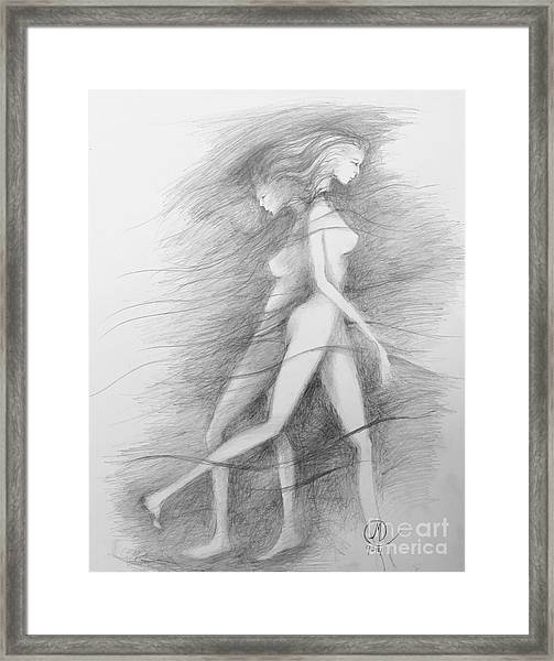 What Lies Within My Shadow Framed Print