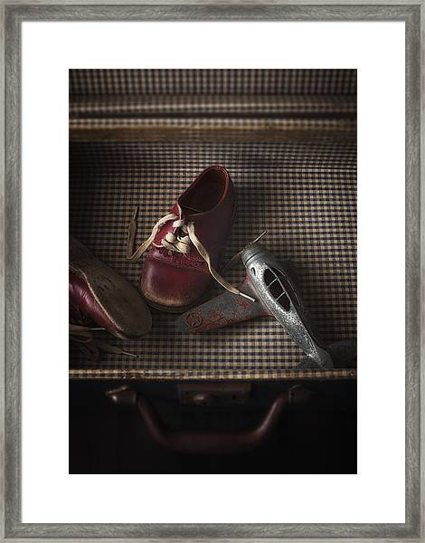What Little Boys Are Made Of... Framed Print