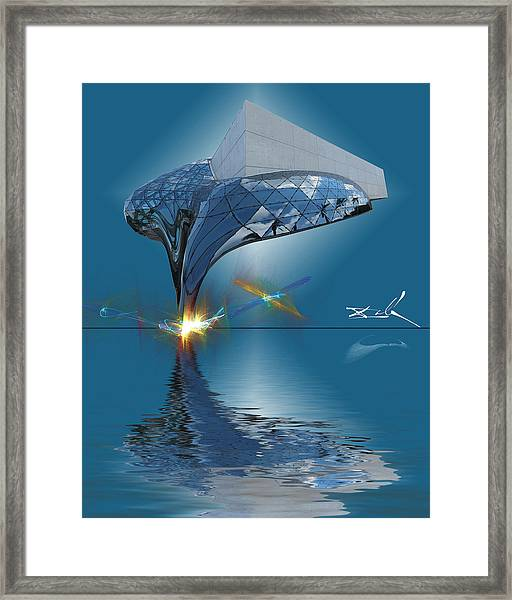 What Would Dali Do? Framed Print