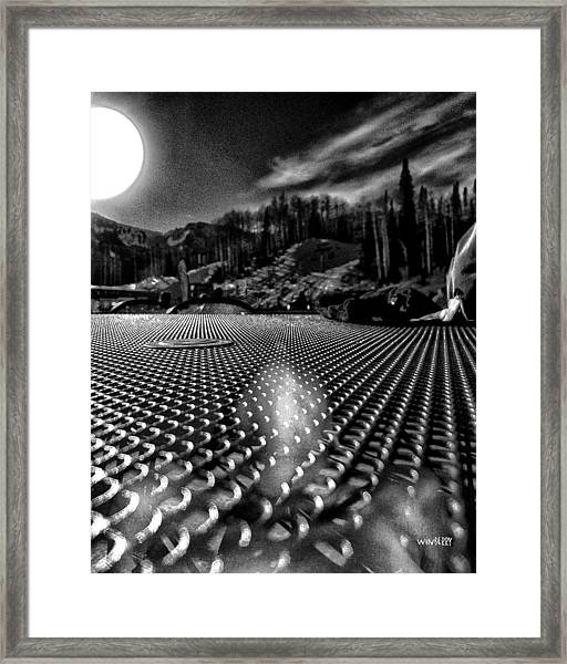 What You Do In Park City When You Do Not Ski Framed Print