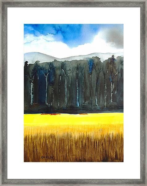 Wheat Field 2 Framed Print