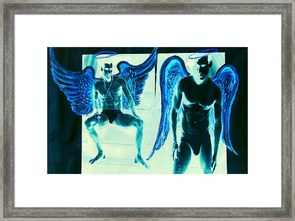 When Heaven And Earth Collide Series Framed Print