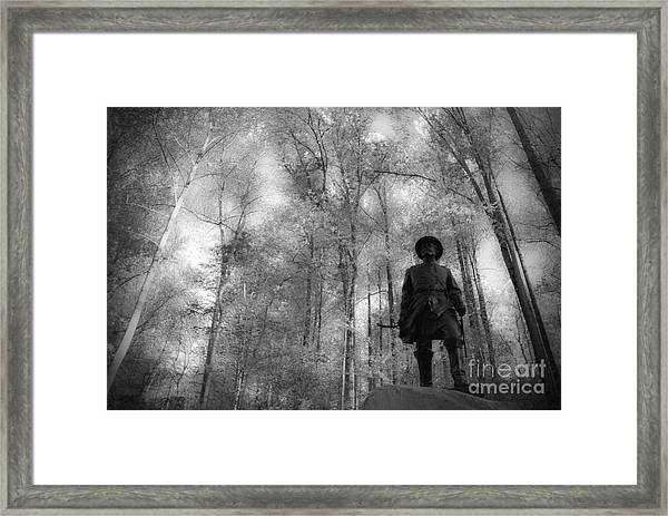 When History Called Framed Print