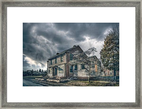 When No One Cares Framed Print