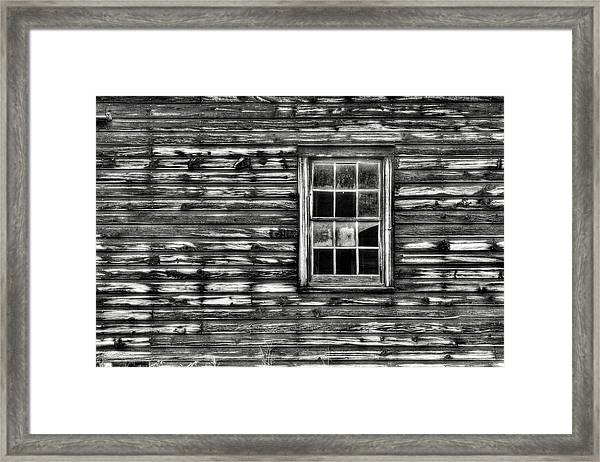 When Times Were Simpler Framed Print