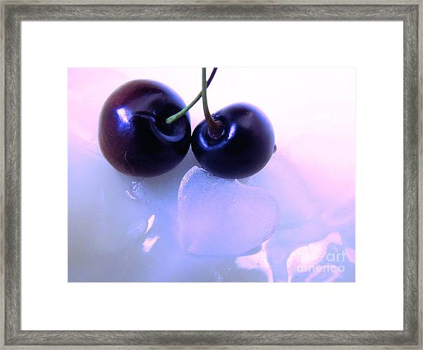 When Two Hearts Become One Framed Print