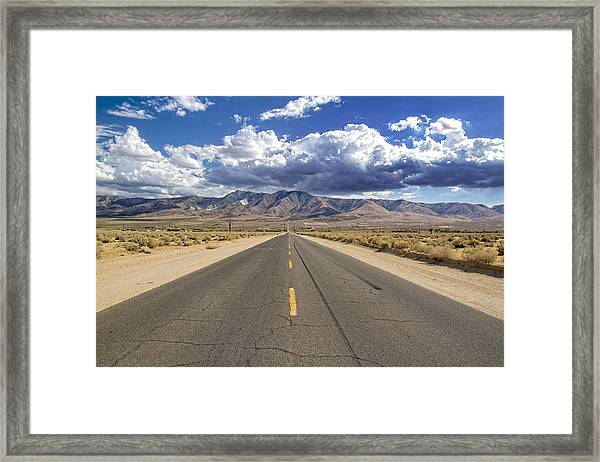 Where Is This Leading Framed Print