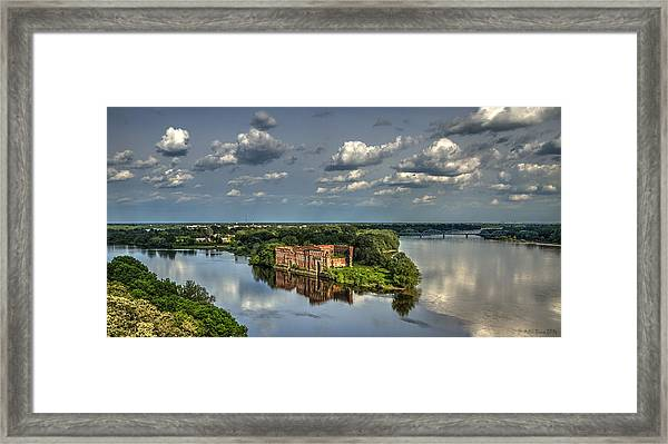 Where Two Rivers Meet Framed Print