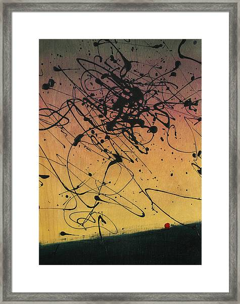 While Sisyphus Slept Framed Print