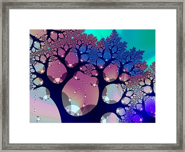 Whimsical Forest Framed Print