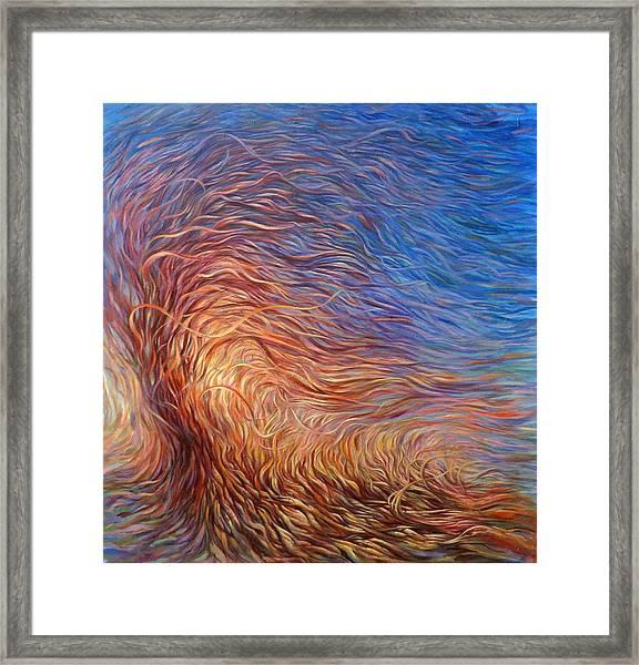 Whirl Tree Framed Print