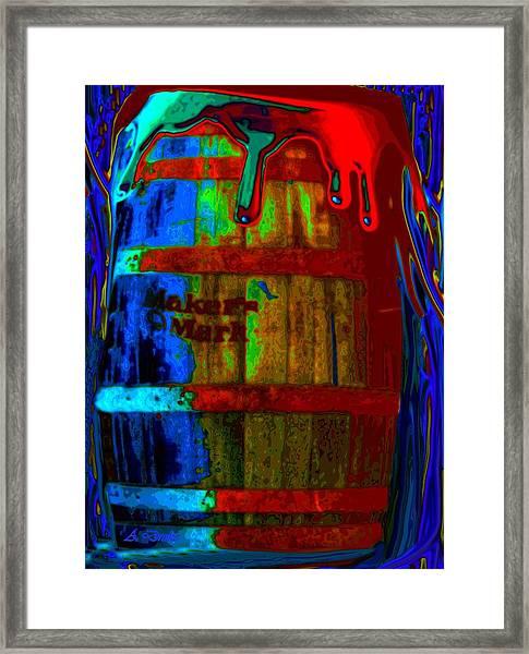 Whiskey A Go Go Framed Print