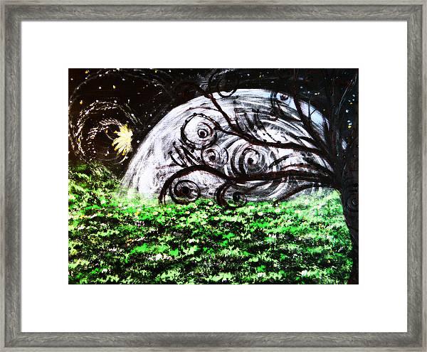 Whispering Fairytales Framed Print