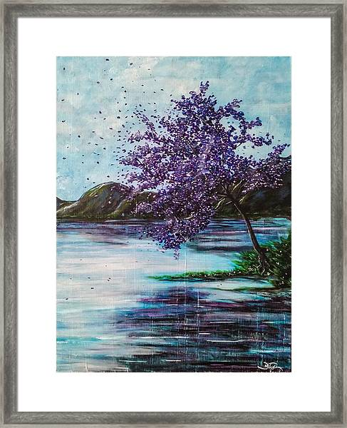 Whispers Of Wishes Framed Print