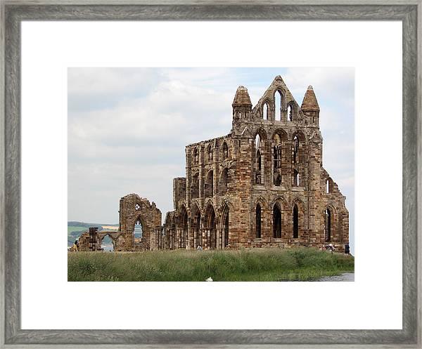 Whitby Abbey Framed Print
