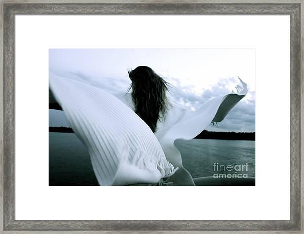 White Angel Framed Print
