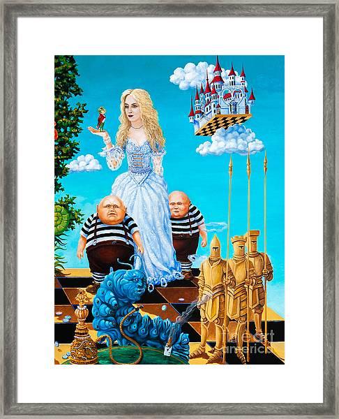 White Queen. Part 3 Framed Print