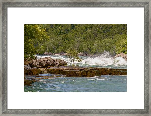 Framed Print featuring the photograph White Water by Garvin Hunter